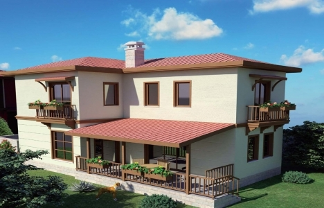 Bahçesaray Yeşilyurt Konakları'nda 5 villa hemen teslim!