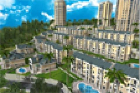 Bahçeşehir'de dört bir yan inşaat doldu