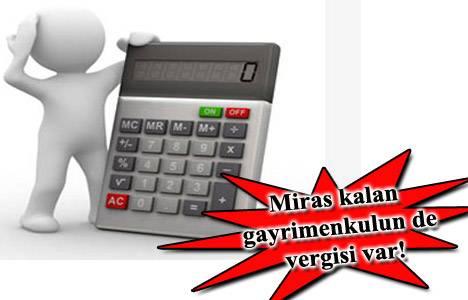 Veraset ve intikal vergisi hesaplama 2013!