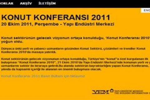 YEM, 20 Ekim'de konut konferansı düzenliyor!