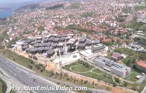 Altunizade Şehrizar Konakları'nın havadan son görüntüleri!