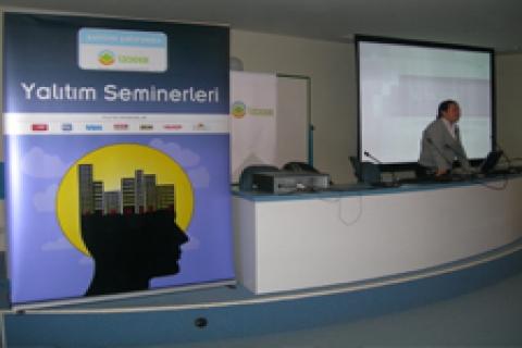 İZODER ilk yalıtım seminerini verdi