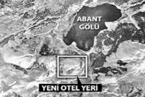 Abant'ta turizm alanı