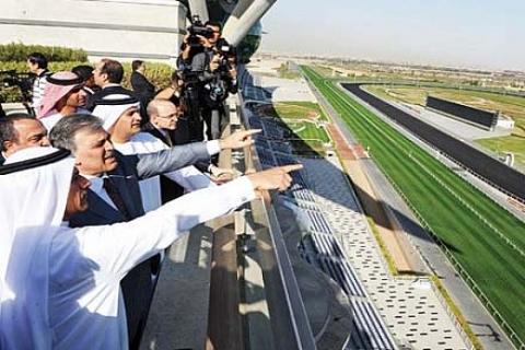 Abdullah Gül Dubai'de