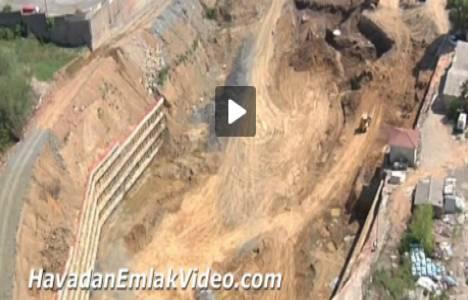 Avrupa Konutları Maslak projesinin havadan videosu!