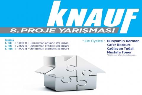 Knauf, 8. proje yarışması için 24 Ağustos'a kadar projeleri teslim alıyor!