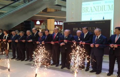 Brandium Alışveriş Merkezi bugün açıldı!