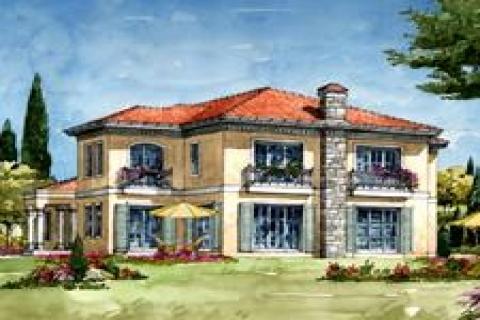 Gölpark'ta 400 bin Euro'ya villa!