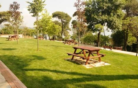 Sarıyer Çamlık Parkı açıldı!