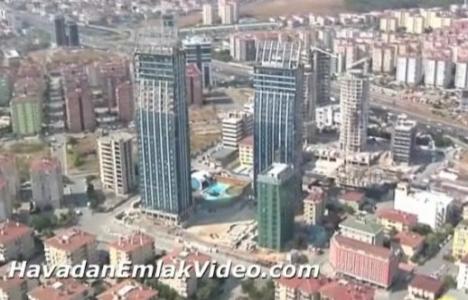 Dap Royal Center, Burgu Kule ve Tango Kule'nin havadan videosu!