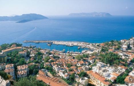 Antalya Kaş'ta imar