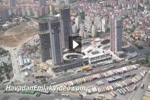Ataşehir konut projelerini havadan izlemek için tıklayın!