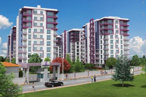 ModaKent'te yaşam başlıyor 3+1 evler 235 bin TL