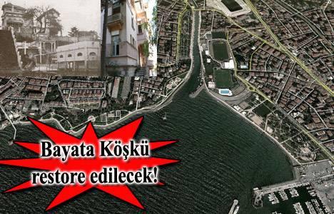 Kadıköy Caferağa'daki Bayata Köşkü'nün imar planı askıda!