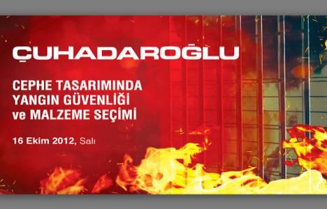 Cephe Tasarımında Yangın Güvenliği toplantısı 16 Ekim'de YEM'de!