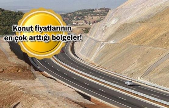 İzmir-Menemen-Aliağa-Çandarlı Otoyolu konut ve arsa fiyatlarını uçurdu!
