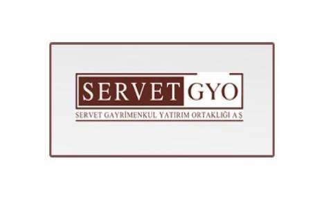 Servet GYO 3 aylık finansal tablo ve faaliyet raporu yayınladı!