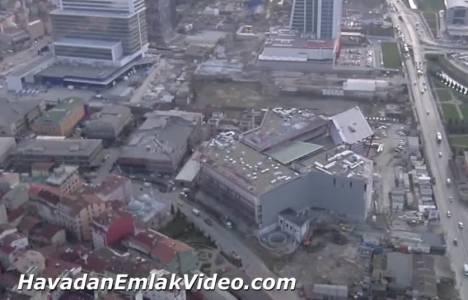 Suryapı Kağıthane AVM projesinin havadan videosu!