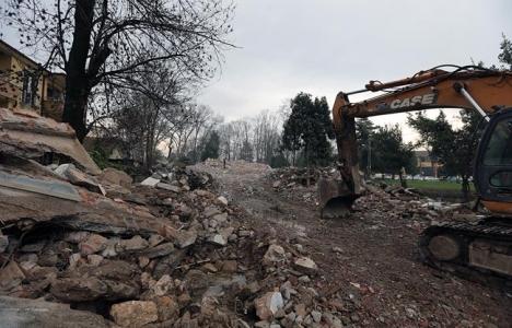Kırıkkale'de gecekondu yıkımı