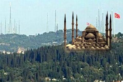 Çamlıca Tepesi'ne cami, bağışlarla yapılacak!