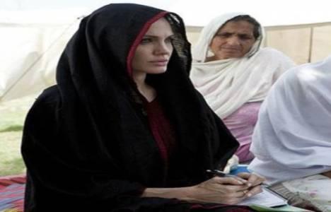 Angelina Jolie Afganistan'da