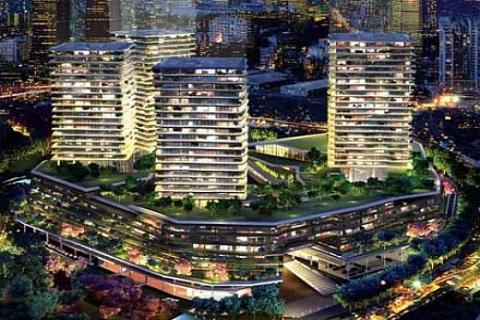 Zorlu Center Beşiktaş'ta konutların metrekaresi 9 bin 500 dolardan başlıyor!