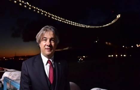 Ahmet Misbah Demircan, Yavuz Sultan Selim Köprüsü'ndeki çalışmaları inceledi!