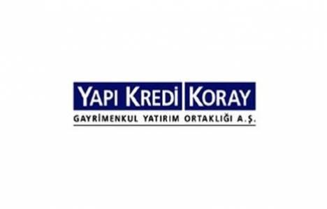 Yapı Kredi Koray GYO sermaye indirimi kararı aldı!
