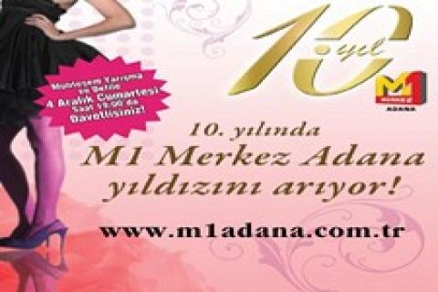 M1 Merkez Adana AVM 10. yılını kutladı!
