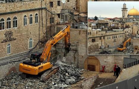 İsrail'deki yıkım Osmanlı eserlerine uzandı!
