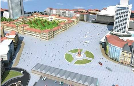 Taksim Meydanı Yayalaştırma