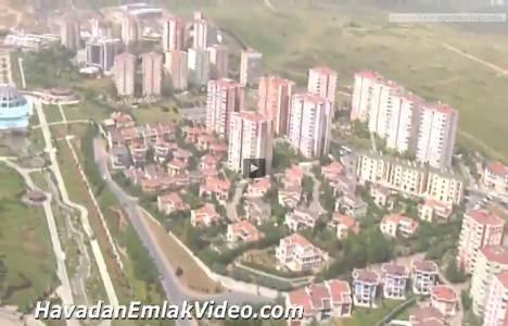 Başakşehir bölgesinin havadan genel videosu!
