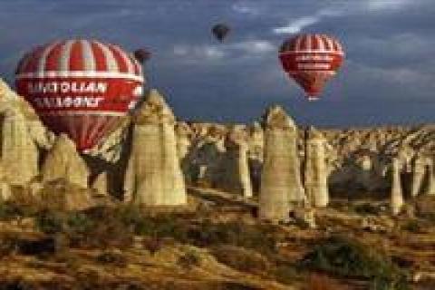 Kapadokya'ya gelen turist sayısında düşüş yaşandı!