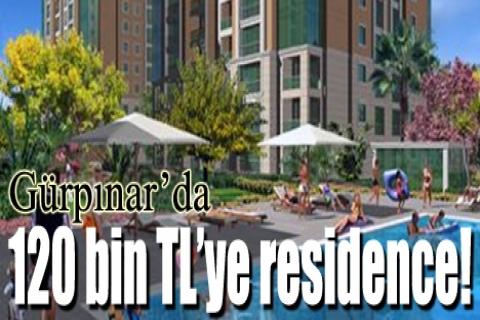 Aktel Residence'de 120 bin TL'ye!