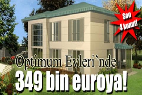 Optimum Evleri'nde 349 bin euroya! Son 4 konut!