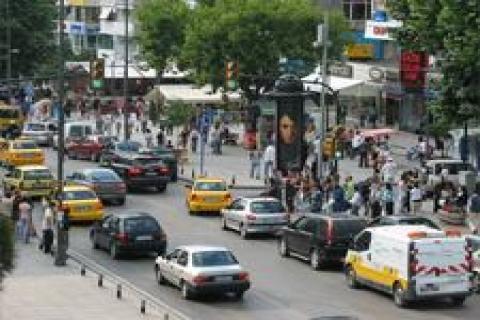 Bağdat Caddesi'nde çuval