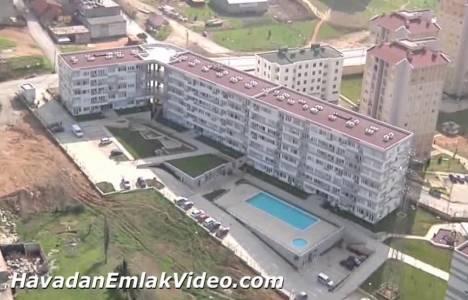 Adres Botanik Evleri Tuzla'nın havadan görüntüleri!