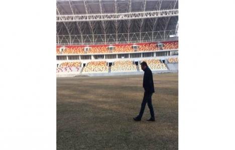 Malatyaspor'un yeni stadında çalışmalar sürüyor!