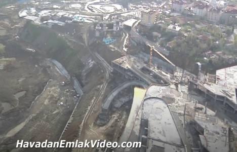 Vialand Eyüp projesi havadan görüntüleri!