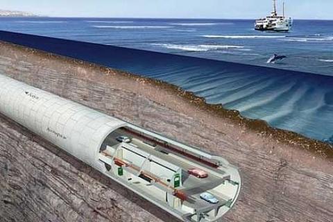 İstanbul Boğazı'nın altına taşıt tünelini Türk ve Koreli firmalar yapacak!