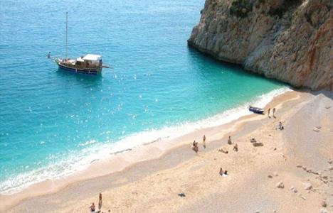Antalya Kaputaş Plajı'ndaki