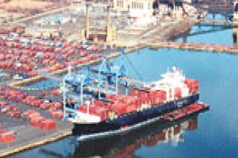 İzmir Limanı'nda Alsancak