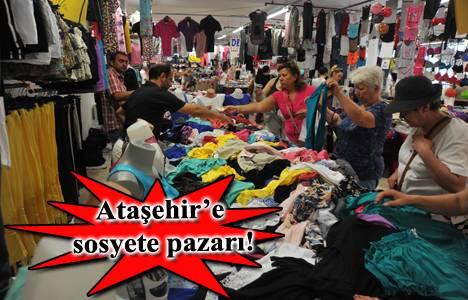 Ataşehir Sosyete Pazarı 8 Ocak'ta açılıyor!