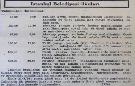 1941 yılında Fatih'te