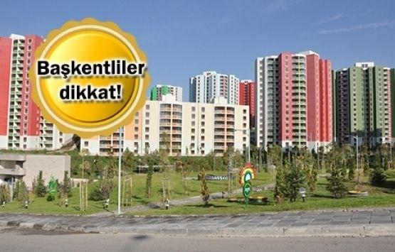 TOKİ'den Ankara'ya 95