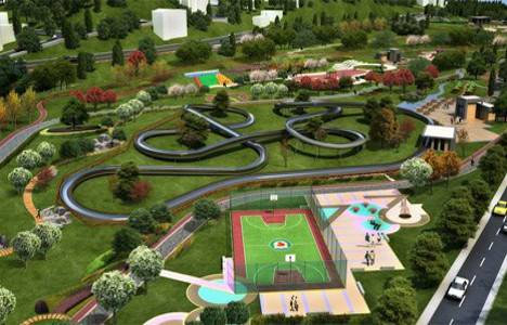 Ankara Sincan'da 5 adet park yapım işi!