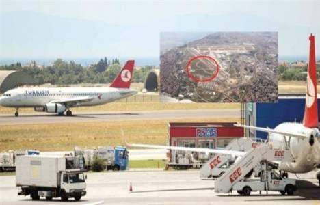 Askeri alandaki koruganlıkların yerine uçak park alanı inşa edilecek!