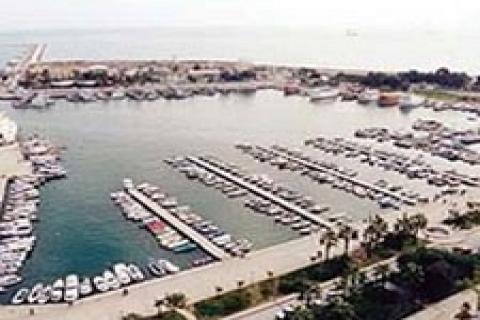 Mersin Marina'sı baharda