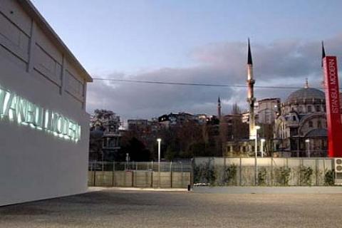 İstanbul Modern binasının