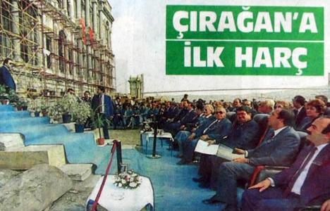 1986 yılında Çırağan